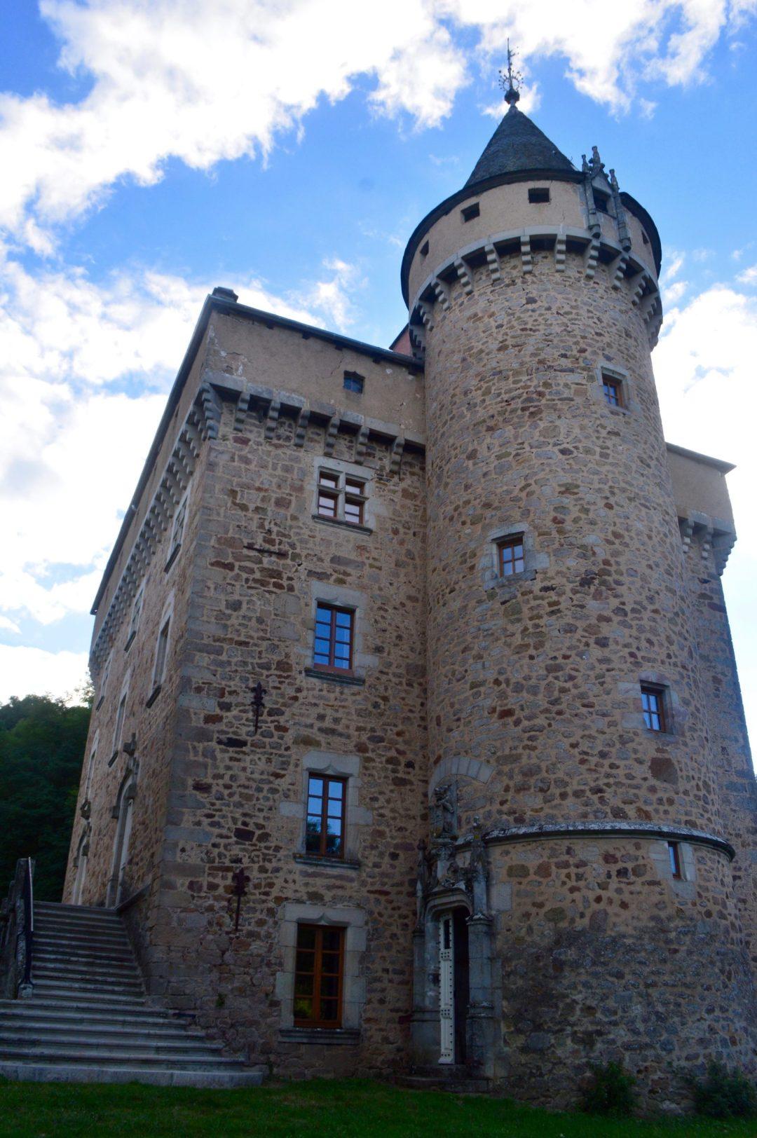 French Chateau Castle Stone Aveyron