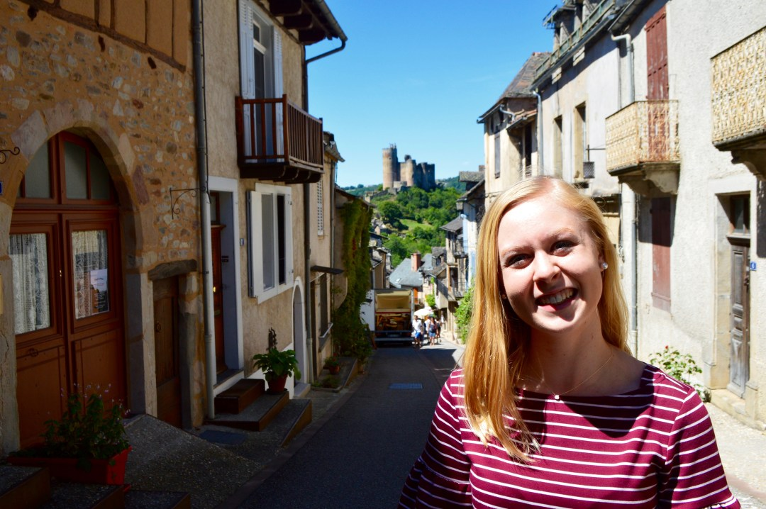najac castle french chateau round trip travel