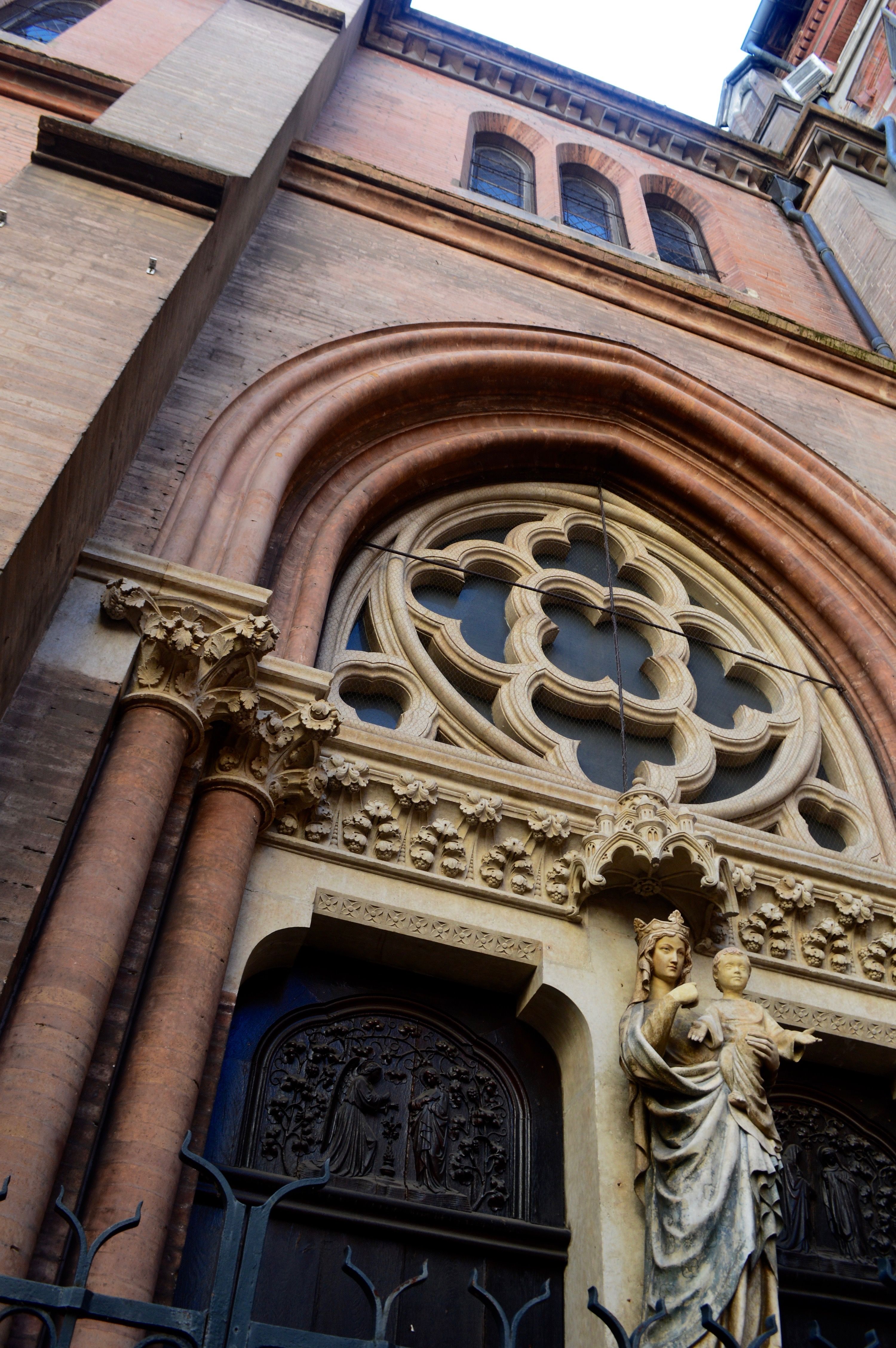 Church Toulouse France Architecture Catholic Carmes