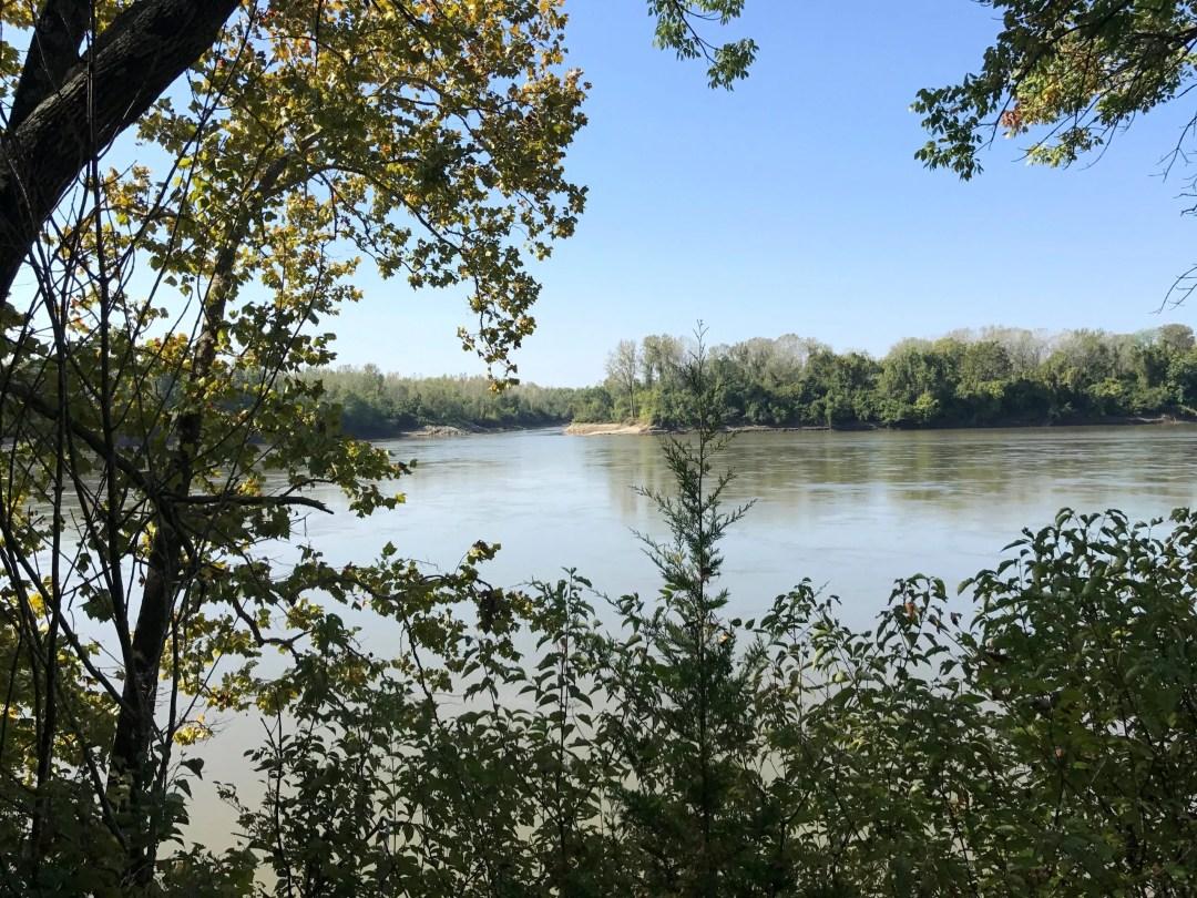 Katy Trail Rocheport Missouri Trail River Bike Meriweather