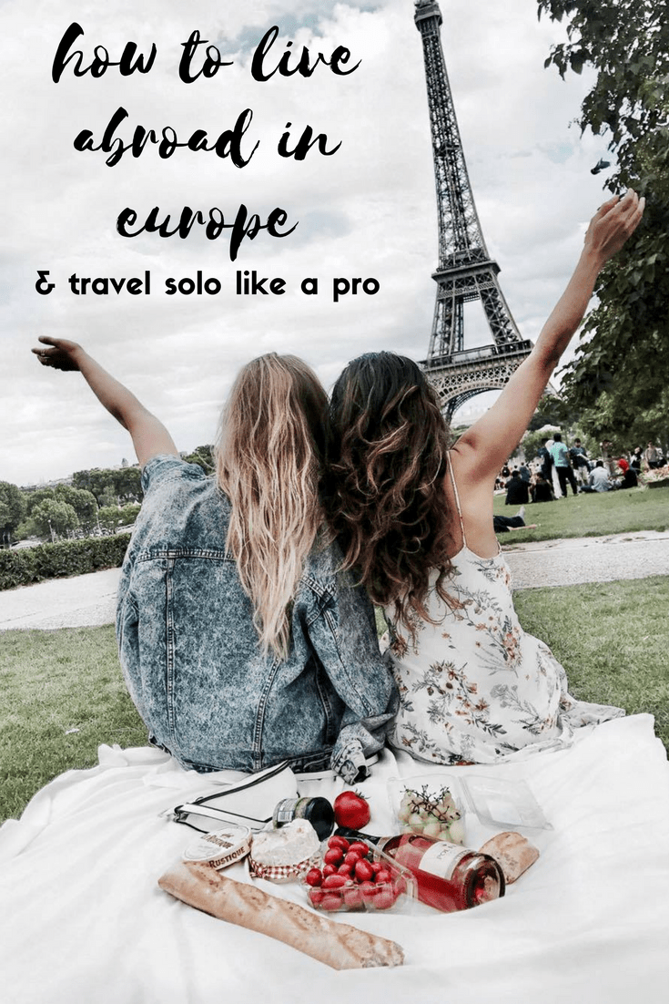how to live abroad in europe