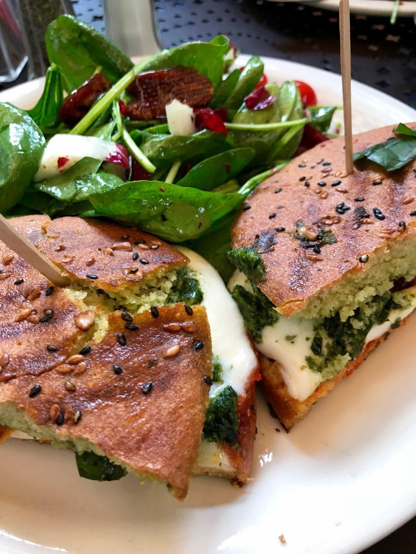 Urth Cafe Panini Caprese Santa Monica California