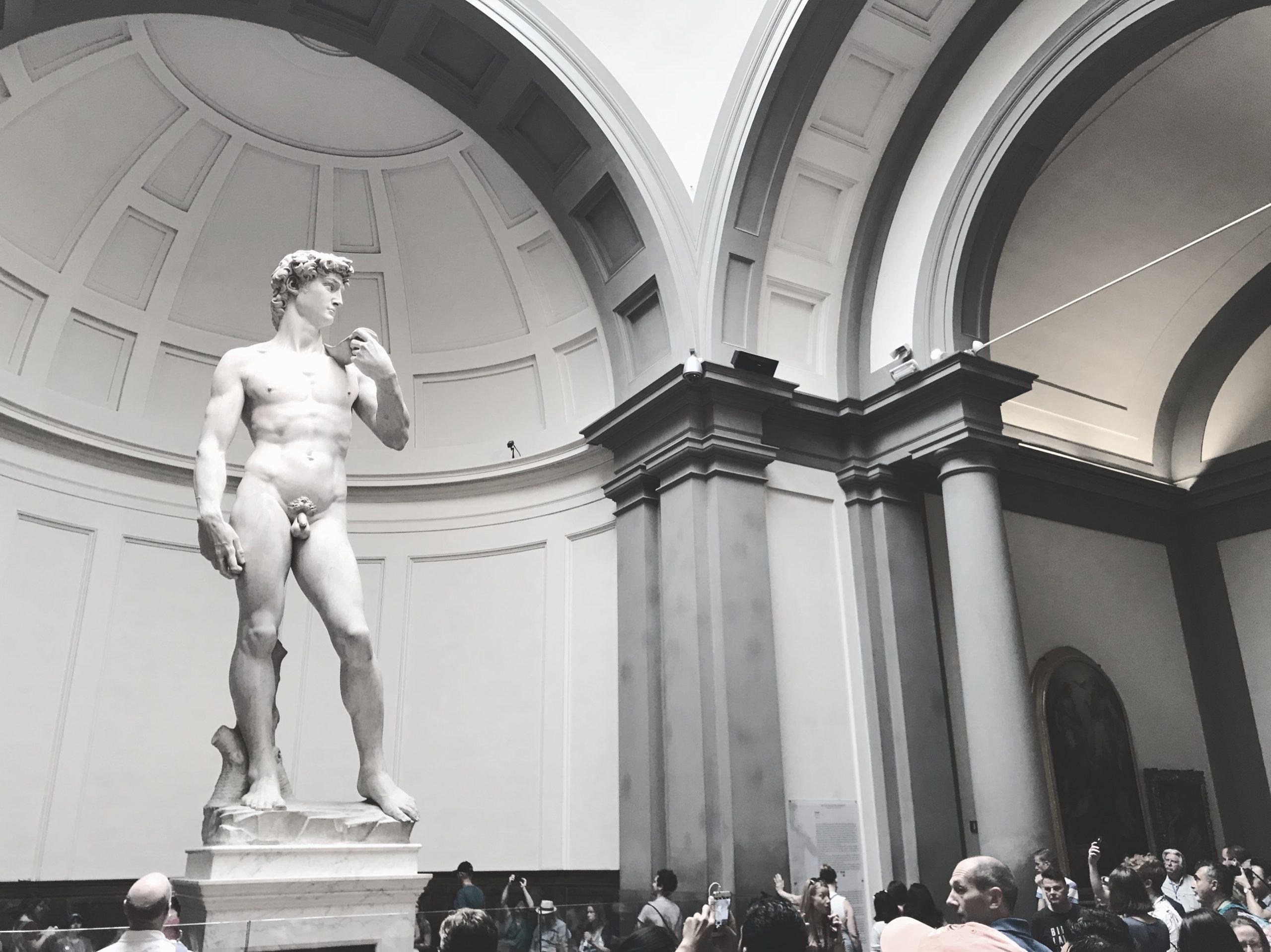 David Statue Florence Italy Firenze Italia
