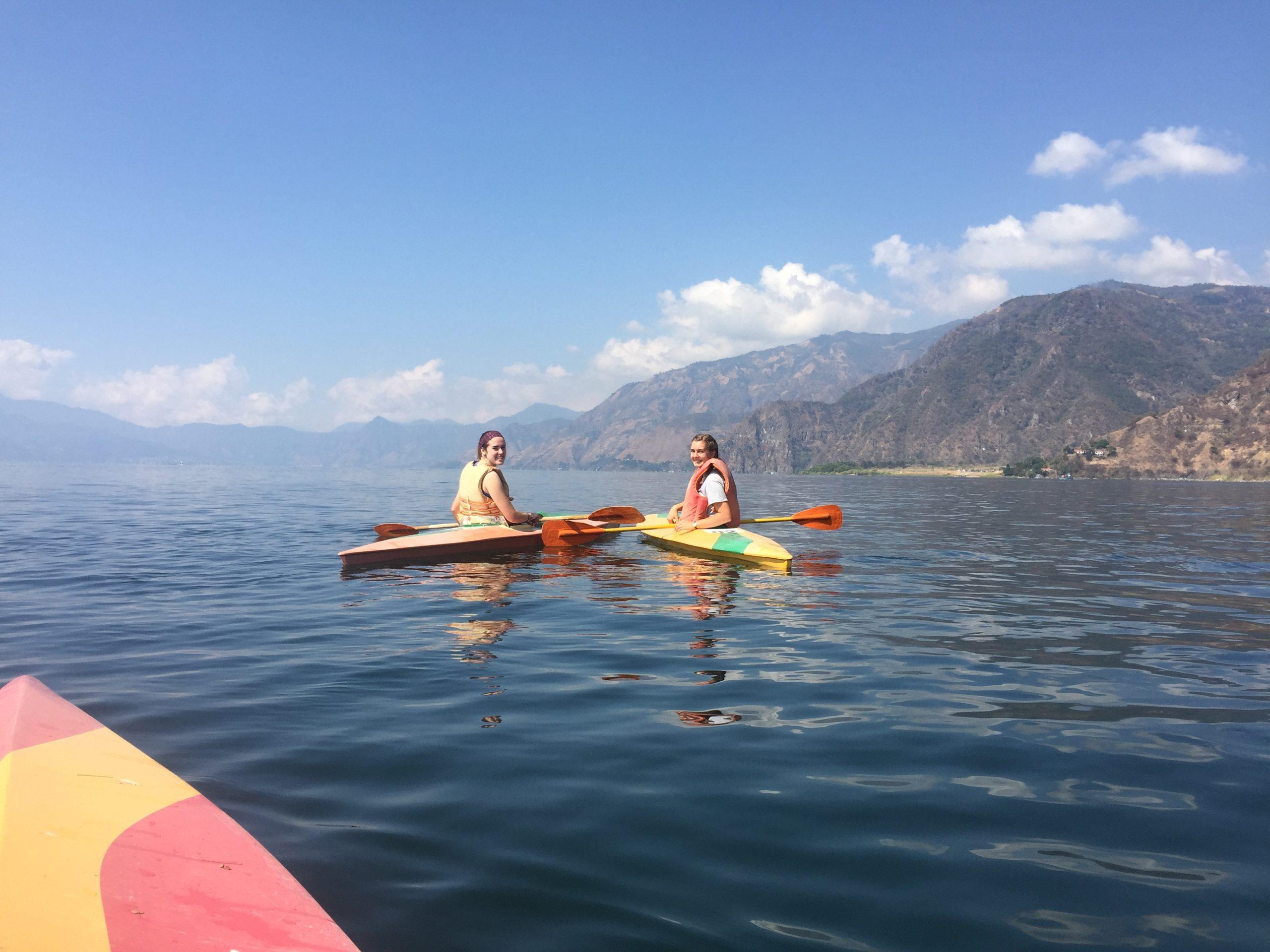 Guatemala Kayaking World Race Gap Year