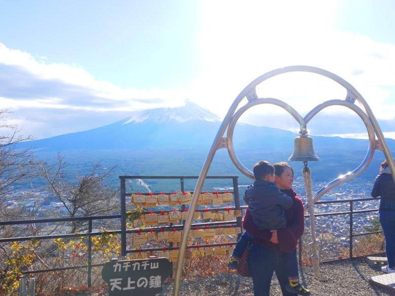 天上之鐘 | 天上山公園 | 富士山 | 河口湖 | 山梨 | 巡日旅行攝