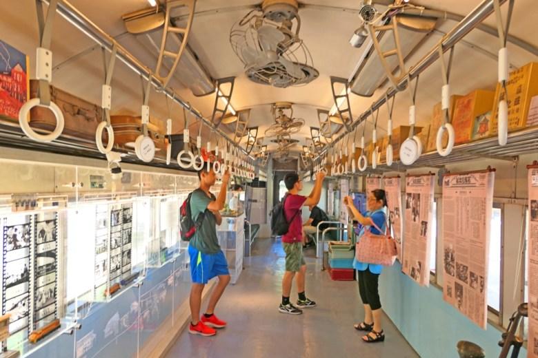 臺鐵火車車廂內 | 新北投車站 | XINBEITOU | Taiwan | RoundtripJp
