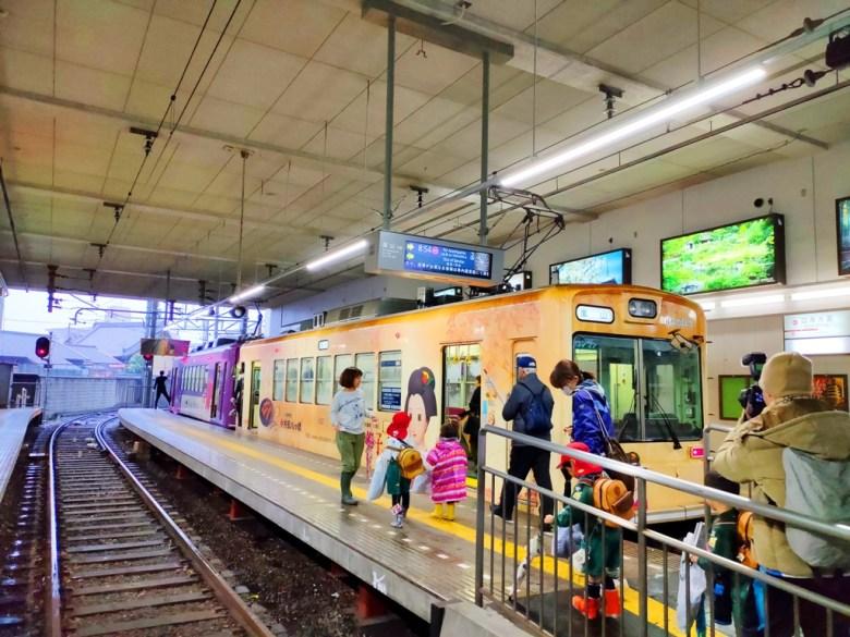 嵐電 | 京福電車 | 四条大宮駅 | Kyoto | Japan | RoundtripJp