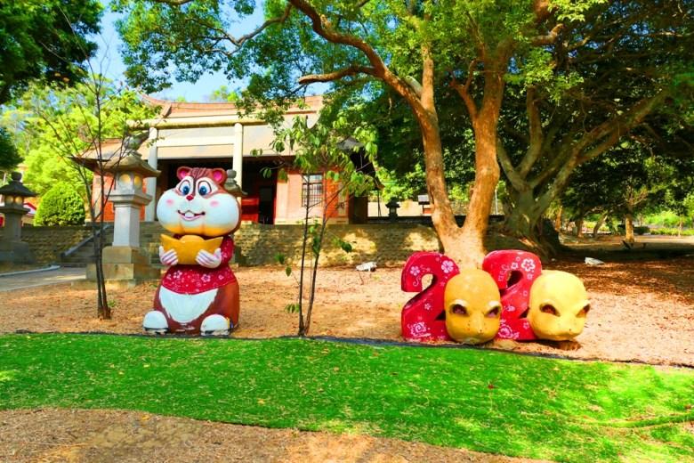 生肖鼠 | 2020 | 裝置藝術 | 苗栗通霄神社 | Miaoli | Taiwan | RoundtripJp