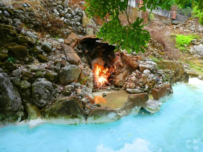 水火同源 | 青い池與赤の火 | 關子嶺溫泉風景區 | 白河 | 臺南 | 巡日旅行攝