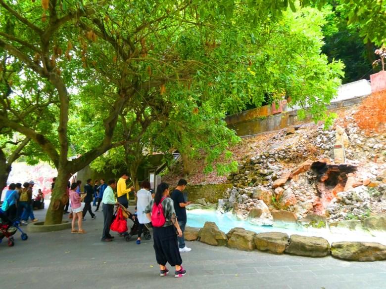 水火同源 | 青い池與赤の火 | 關子嶺風景區 | 白河 | 臺南 | 巡日旅行攝