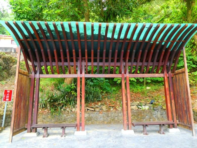 木造涼亭 | 愜意舒適 | 關子嶺溫泉風景區 | Guanziling Scenic Area | Baihe District | Tainan | RoundtripJp