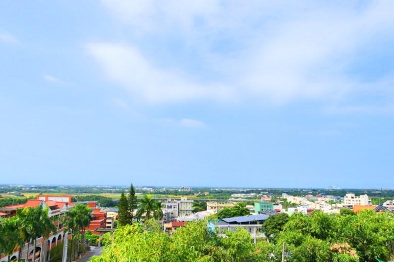 鳥瞰林內鄉之美 | 地平線 | 一覽無遺 | 林內神社遺跡廣場 | Linnei | Yunlin | Taiwan | RoundtripJp