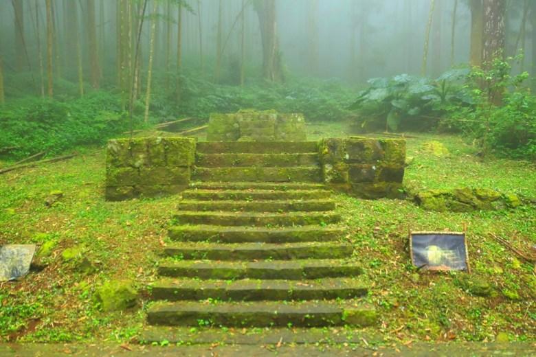 基座 | 奮起湖神社遺跡 | Shinto Shrine Ruins | Mt.ali | Chiayi | Taiwan | RoundtripJp