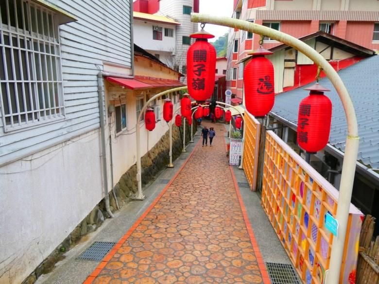 關子嶺老街 | Guanziling Old Street | 日式溫泉街 | 和風街道 | 溫泉街 | 臺南 | 臺灣 | 巡日旅行攝