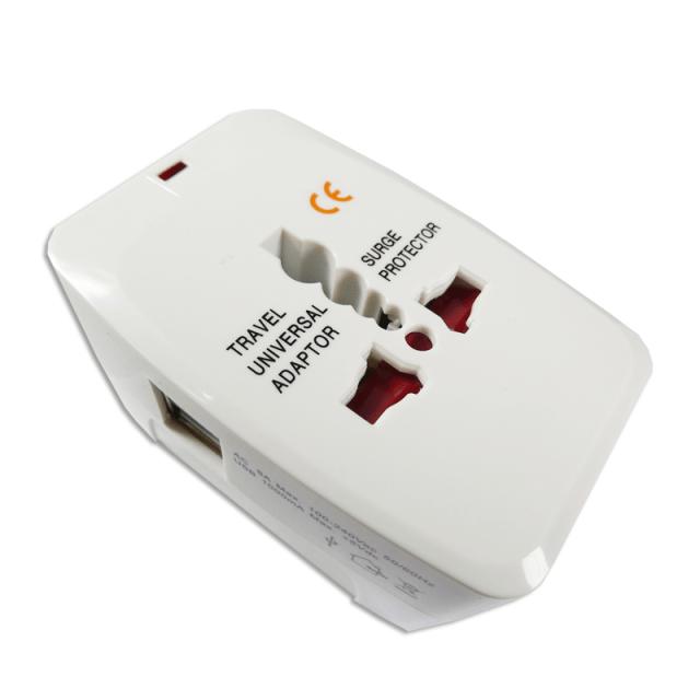 TP-0000003-Travel Universal Adaptor USB-全球通用旅行轉接器USB版
