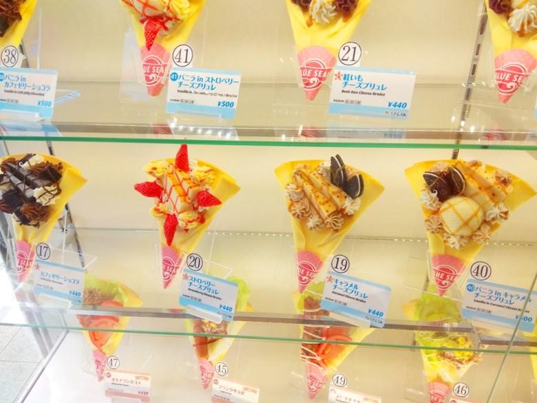 多彩日本 | 日本Blue seal可麗餅 | 日本甜點 | TOP10 | 巡日旅行攝