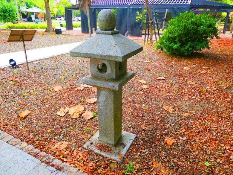 石燈籠 | SuanTou Shrine Ruins | 和園 | 蒜頭製糖所 | 蒜頭糖廠蔗埕文化園區 | Wafu Taiwan | RoundtripJp