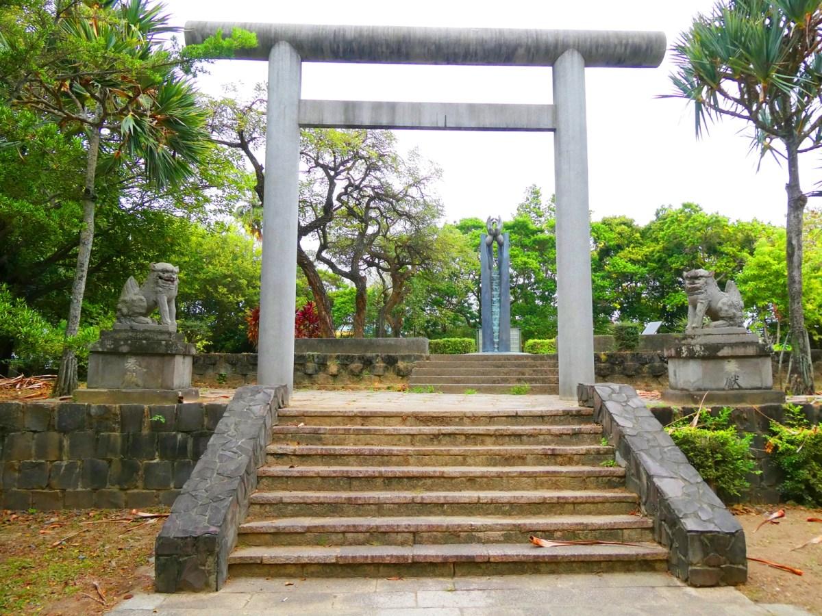 東石神社遺跡 | 一對狛犬 | 敬天、祈福 | 朴子藝術公園裝置藝術 | 巡日旅行攝