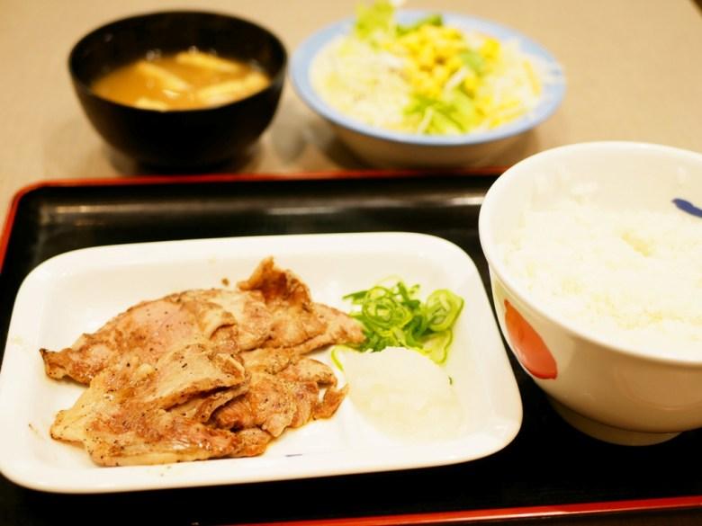 Colorful Japan   日本松屋豚燒肉套餐   Japanese foods   RoundtripJp
