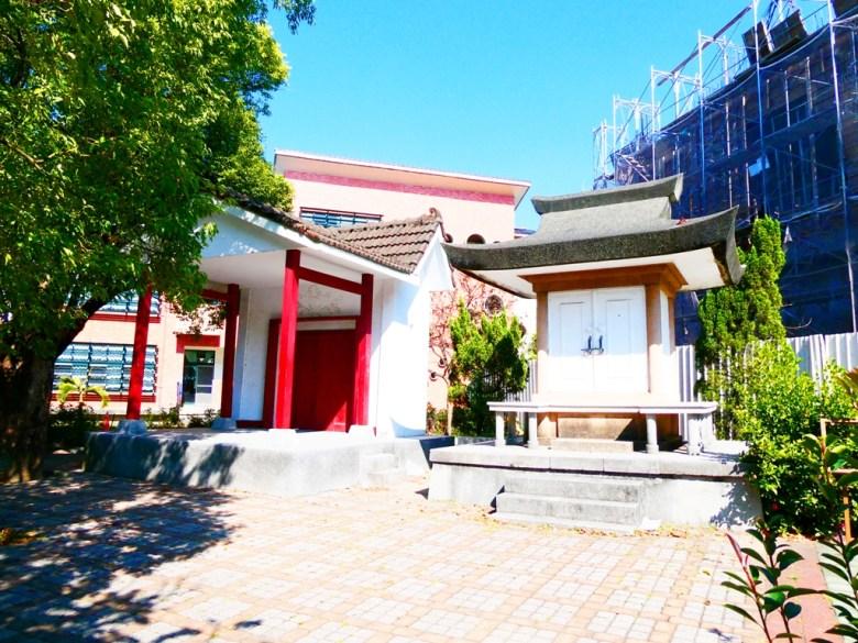 御真影奉安殿 | 校舍講堂與小舞台 | Xinhua | Tainan | Taiwan | 巡日旅行攝