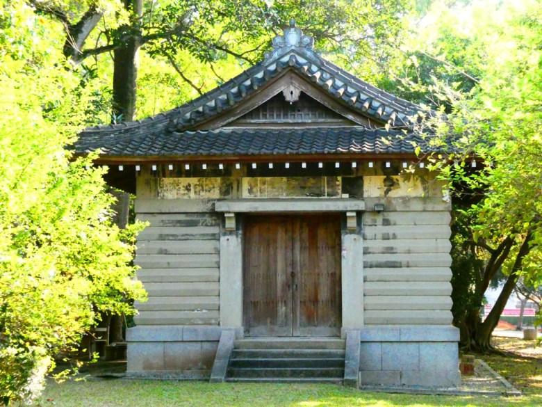祭器庫   嘉義公園內   嘉義神社遺跡   Chiayi Shrine Ruins   嘉義   臺灣   巡日旅行攝