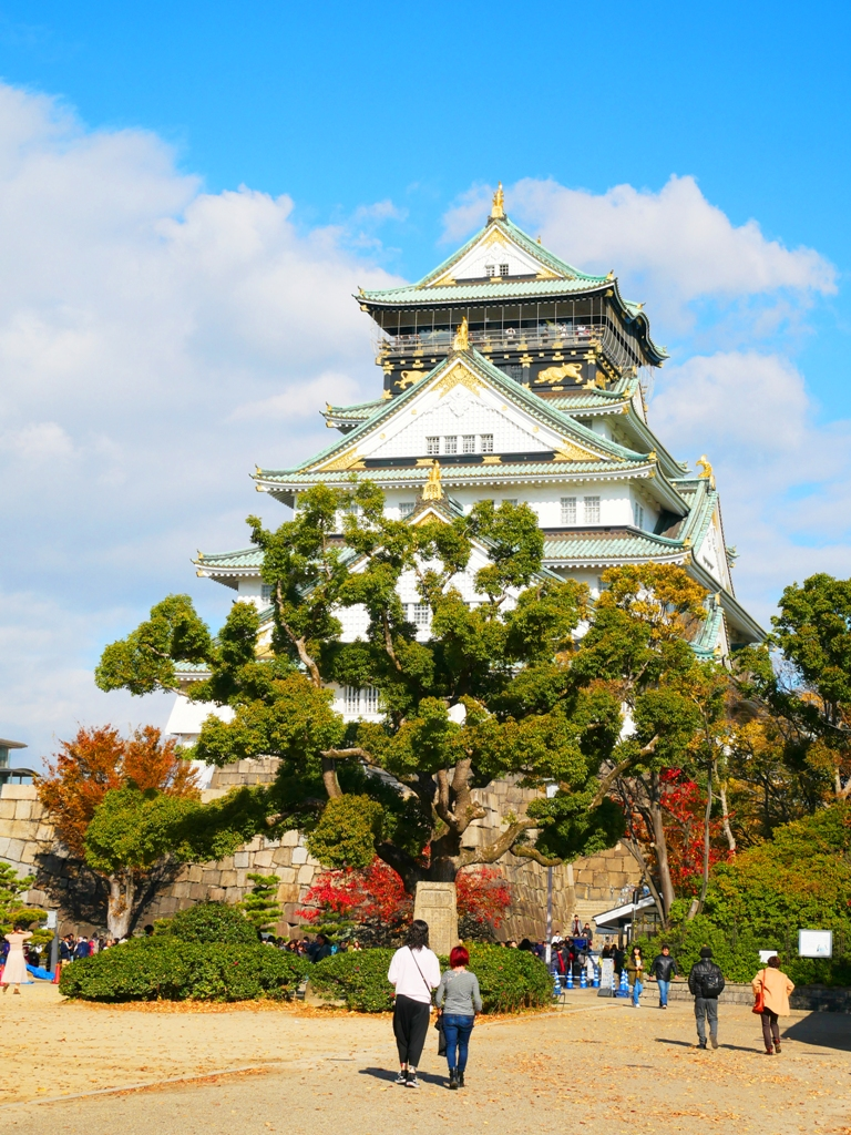 多彩日本 | 大阪府 | 大阪城 | 日本白色景點10選 | 巡日旅行攝