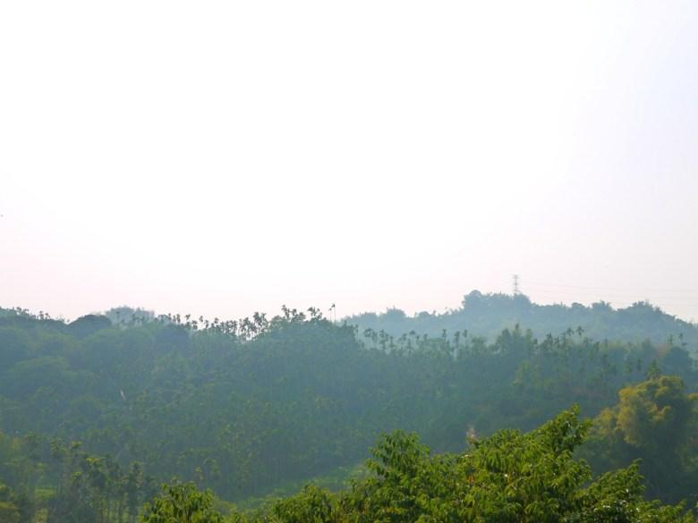 在梅山公園最高點遠眺遠山之美 | 山上的清新空氣 | メイシャンこうえん | 梅山公園 | 梅山 | 嘉義 | RoundtripJp