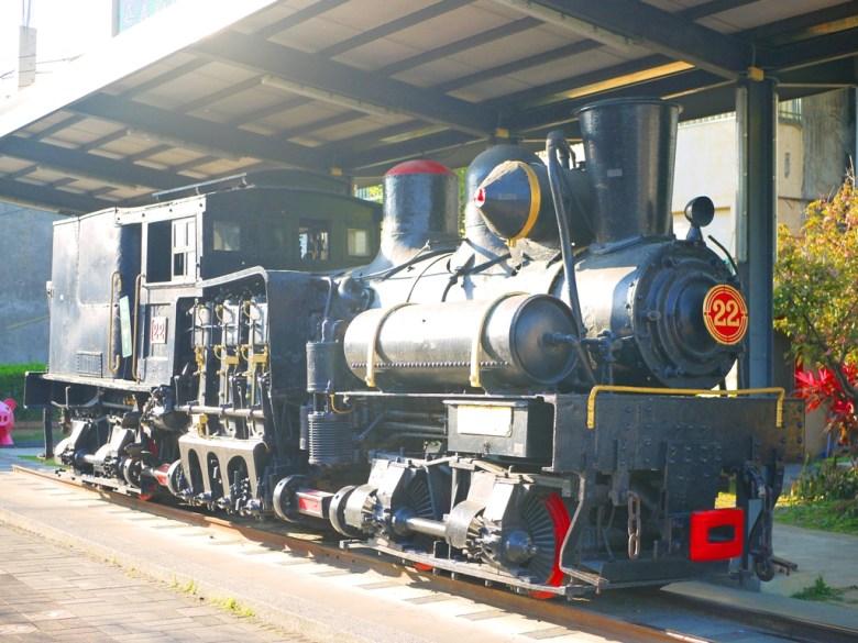 SL22蒸汽火車 | 原本是阿里山鐵路運送木材所使用的火車 | 鐵道迷最愛的蒸汽火車 | しゅうしゅうえき | RoundtripJp