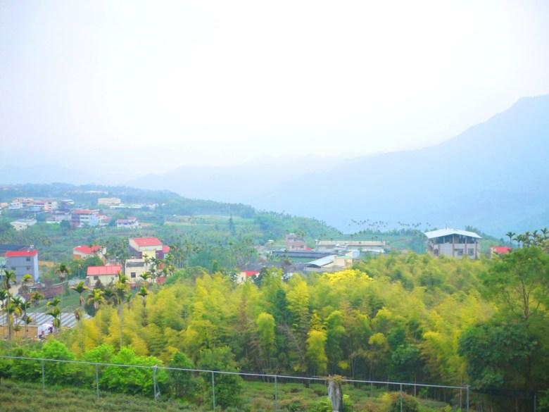 從鳳凰教育中心觀景平台遠眺的山村之美 | 清幽小鎮 | 綠樹環繞 | ルーグー | Lugu | Nantou | RoundtripJp