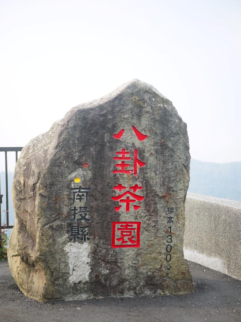 南投縣八卦茶園石碣 | 標高1,300公尺 | 南投八卦茶園 | 竹山 | 南投 | 巡日旅行攝