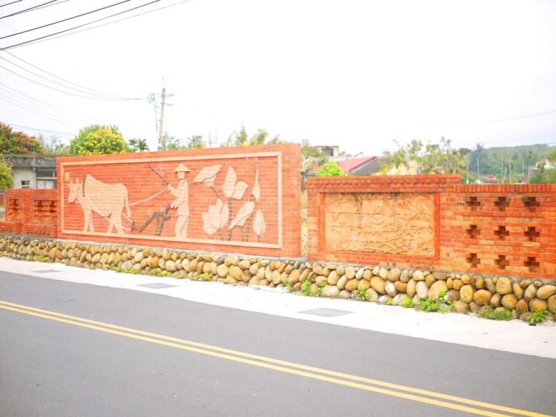 日式宿舍大門前道路 | 臺灣傳統紅磚 | 山腳社區藝術造景 | 苑裡 | 苗栗 | ユエンリー | ミアオリー | 巡日旅行攝
