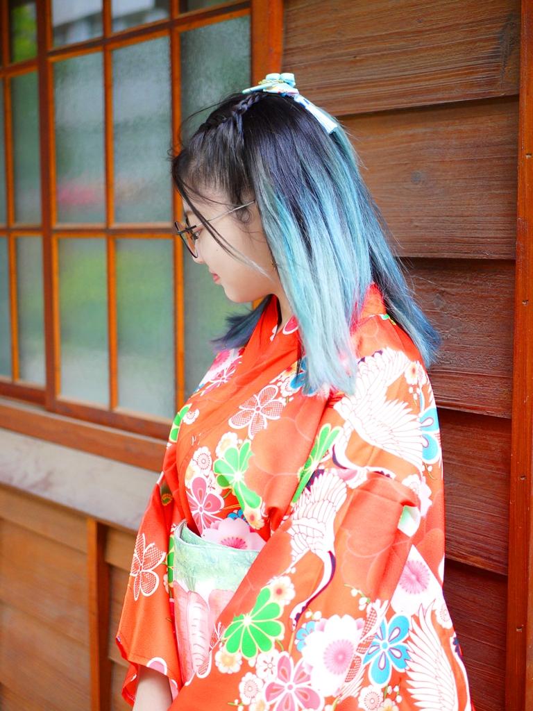 日本和服 | 日式木造建築 | 網美景點 | 清水公學校日式宿舍群 | 清水 | 台中 | チンシュイ | タイジョン | 巡日旅行攝