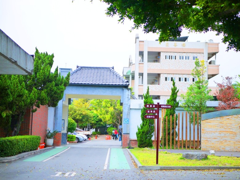 清水國小一隅 | 畫面右方為清水公學校日式宿舍群方向 | チンシュイ | タイジョン | Qingshui | Taichung | 巡日旅行攝