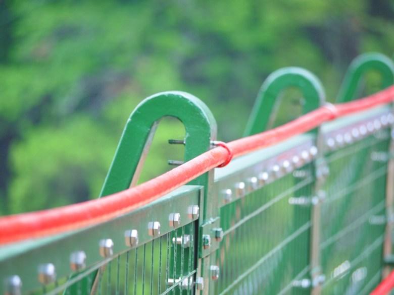堅固的鐵製吊橋 | 奧萬大吊橋 | Aowanda Suspension Bridge | 奧萬大國家森林遊樂區 | レンアイ | ナントウ | RoundtripJp