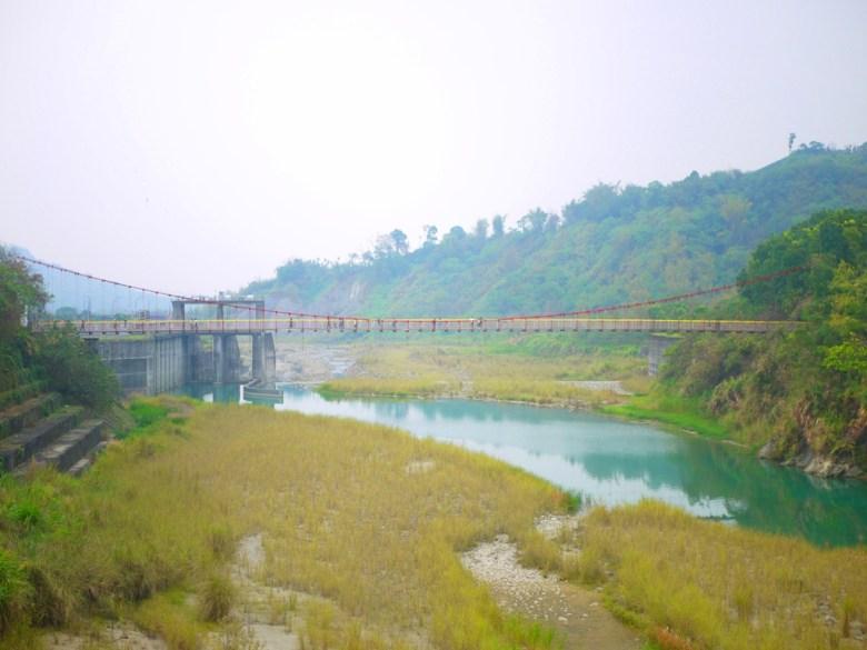 遠眺桶頭吊橋   桶頭攔河堰   清水溪   自然景觀   日本味   Takeyama   Zhushan   Nantou   巡日旅行攝