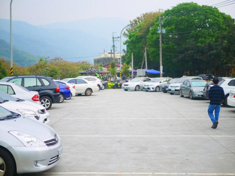 免費停車場   前方為桶頭吊橋入口處與洗手間   Takeyama   Zhushan   Nantou   巡日旅行攝