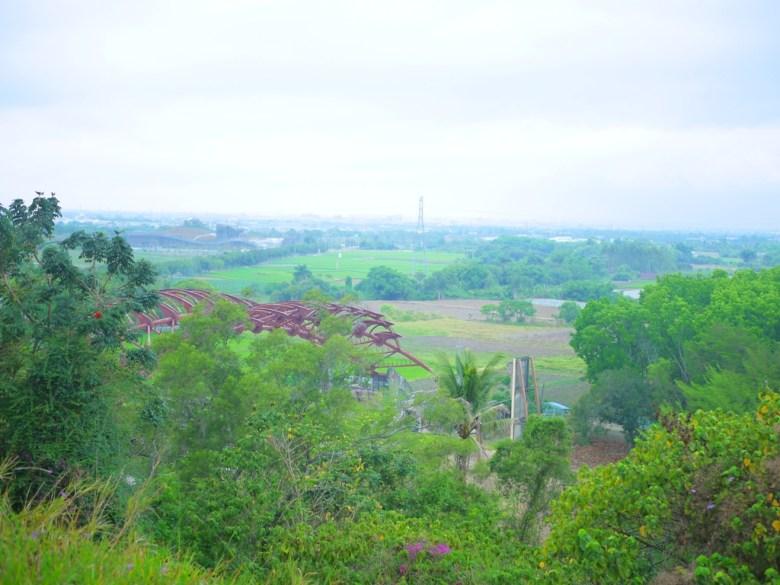 虎頭制高三角點遠眺台南新化之美 | 虎頭埤風景區內 | 新化 | 台南 | 巡日旅行攝