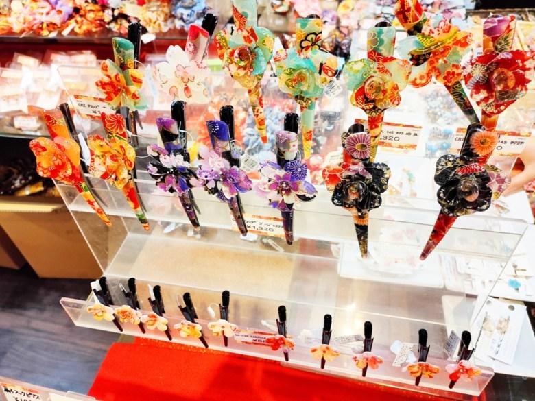 日本工藝品 | 紀念品 | 髮飾 | 京都 | 伏見 | 裏參道商店街 | Fushimi | 巡日旅行攝