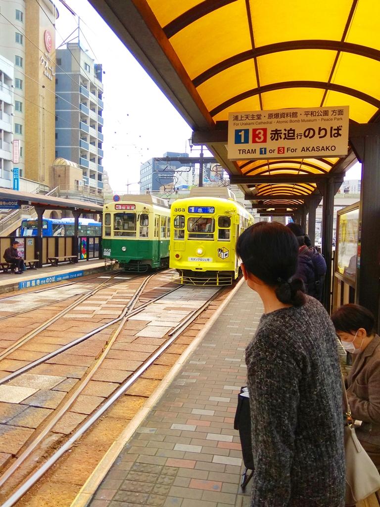 路面電車 | 長崎 | 浦上天主堂、原爆資料館、平和公園方向 | 日本人 | 台灣旅人 | 國外旅人 | RoundtripJp