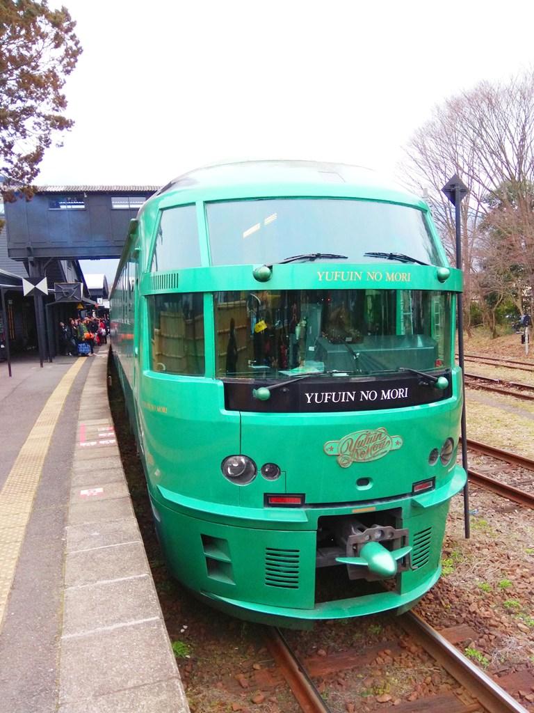 ゆふ   ゆふいんの森   森林風列車   由布院之森   Yufuin no Mori   KYUSHU   九州   RoundtripJp