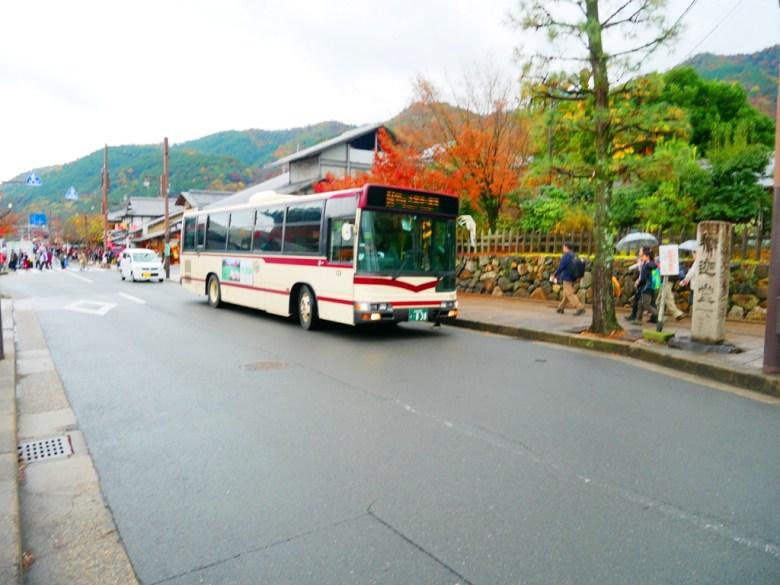 日本巴士 | 京都 | 嵐山 | 日本人 | 台灣旅人 | 國外旅人 | 楓葉 | 釋迦堂 | RoundtripJp