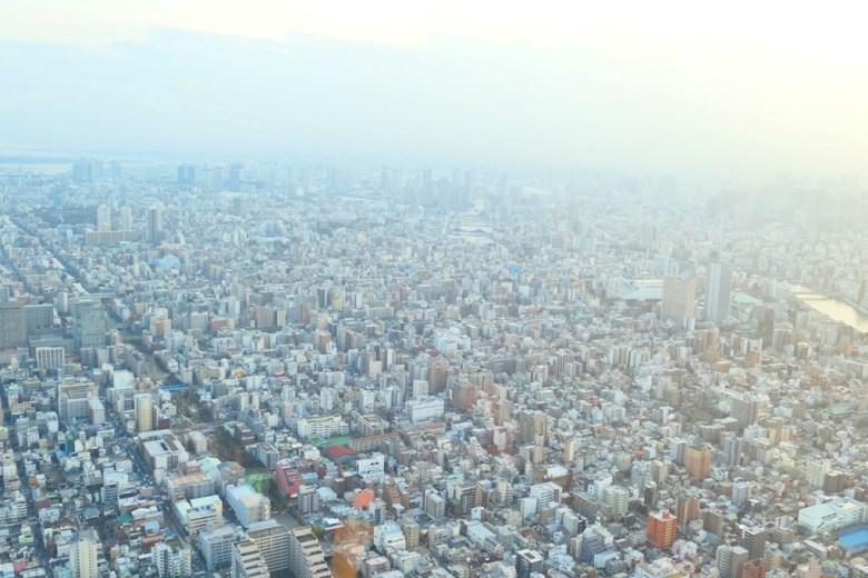 東京晴空塔鳥瞰東京都心 | 東京スカイツリー | とうきょうスカイツリー | Tokyo Sky tree | 墨田區 | 東京 | 日本 | Roundtripjp
