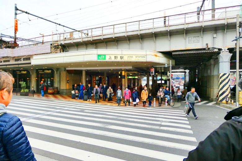 上野JR站   各地旅人   熱鬧街景   人來人往   上野   東京   日本   Japan   巡日旅行攝