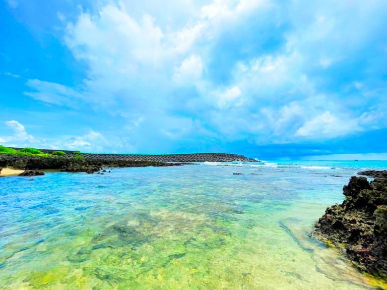 珊瑚礁海灘 | 墾丁秘境海灘 | 夏季的景點 | 網美景點 | 墾丁 | 恆春 | 屏東 | 一抹和風 | 巡日旅行攝 | RoundtripJp