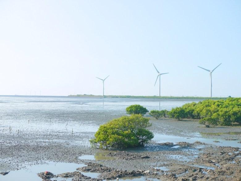 遠眺芳苑潮間帶之美   風車   大海   廣闊   ファンユエン   ほうえん   ジャンホワ   しょうか   Wafu Taiwan   巡日旅行攝   RoundtripJp
