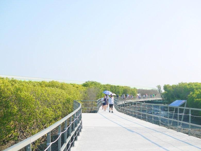 近距離觀賞紅樹林   廣闊的步道   台灣旅人   海中步道   ファンユエン   ほうえん   ジャンホワ   しょうか   Wafu Taiwan   巡日旅行攝   RoundtripJp