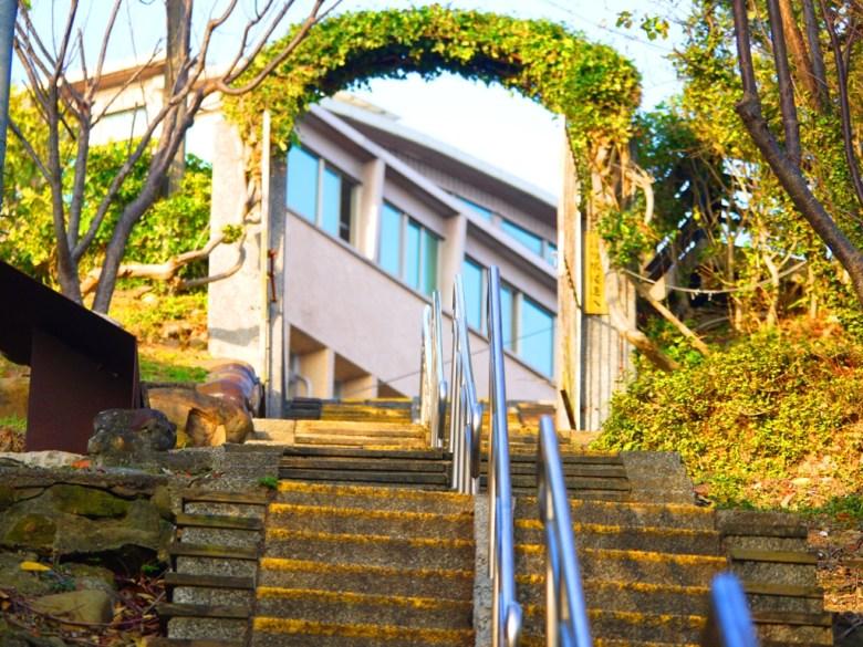 國立聯合大學後門   苗栗稻荷神社遺跡好漢坡   通往大學的捷徑   びょうりつし   ミアオリー   Wafu Taiwan   巡日旅行攝   RoundtripJp