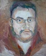 """Efim"" Oil on cardboard, 40 x 50 cm"