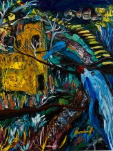 "Status Photo / Video Life Event What's on your mind?  Public      Ron Throop     1 hr ·      ""Thai Fish and Blue Whale Haggle Future Territory"" 2016. Acrylic on canvas, 16 x 12""     Ron Throop's photo.     LikeShow more reactions     CommentShare     2Damian Schofield and Yvonne Fever White     Comments     Ron Throop     Write a comment...     Ron Throop     Yesterday at 7:29am ·     WordPress     ·      Thank you Inna!     Inna Speaks Russian And Our Project Gets 1st Honorable Mention     ""What Are You Focused Upon?"" wins honorable mention in Lakeside Statewide juried exhibition. Dear Russian readers who do not read nor speak English as well as I do Russian… Here is a video of…     roundtripstuckism.wordpress.com     LikeShow more reactions     CommentShare     11Milton Loayza, Jill Luigs and 9 others     Comments     Keitha Mazza  Keitha Mazza Enjoyed the video. Very impressive as is ur painting. Like · Reply · 1 · Yesterday at 7:56am Ron Throop Write a comment... Eric Olson March 26 at 2:40pm · Oswego, NY, United States ·  If you're in Oswego, come to check out the art opening tonight, with some work from me and Ron Throop Art Association of Oswego, Inc. – Offering Free Art Exhibits and Low-Cost Art Classes to Our... AAO Home Mark your calendar! Lakeside-Statewide Exhibition opens March 26 Opening reception will be Saturday, March 26 from 7-9 pm. John McConnell, singer/song writer, will provide music. Snacks and light beverages will be available and at 8 pm, awards will be presented. The show will run until Apri… www.oswegoarts.org LikeShow more reactions CommentShare 22You, Kevin Reynolds, Jill Luigs and 19 others 1 share Comments Damian Schofield Damian Schofield Damn out of town Like · Reply · March 26 at 4:50pm Ranjit Dighe Ranjit Dighe I'm upgrading from Can't to Maybe. Have a great show! Like · Reply · March 26 at 7:47pm Ron Throop Write a comment... Ron Throop March 25 at 3:23pm ·  This makes me want to get stoned with the ""enemy""—Go choke on a cannonball phony lawyer-poet Francis Scott Key! Marvin Gaye Sings the United States National Anthem at the 1983 NBA Allstar Game In 1983, at the NBA All-Star Game, Marvin Gaye stole the show with his singular rendition of ""The… youtube.com LikeShow more reactions CommentShare 1Keitha Mazza Comments Ron Throop Write a comment... Richard Bledsoe shared your photo. March 25 at 10:55am ·  Ron Throop made a painting of us enduring the AZ primary. Bravo! Ron Throop's photo. ‎Ron Throop‎  to  Stuckism: The Anti-Anti Art Movement March 24 at 11:56am ·  ""The Famous Bledsoe Painters Are First To Cast Their Vote During Arizona Reconstruction"" 2016. Acrylic on paper, 15 x 23"" The ratios in top right corner represe... See More LikeShow more reactions CommentShare 11Tabitha Dinegar and 10 others Comments Rick Wobbe Rick Wobbe That's cool! Like · Reply · 1 · March 25 at 2:46pm Ron Throop Write a comment... Ron Throop March 25 at 10:36am ·  ""In New Gaul, I Want To Walk Roman Roads With You, and Just Shut Up For the Rest of My Life"" 2016. Acrylic on wood panel, 12 x 16"""