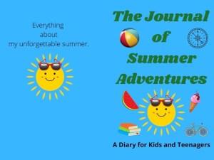 Summer Journal Notebook for Kids, Teens, Adults